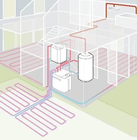Schema impianto termosifoni con collettore infissi del - Impianto acqua bagno ...